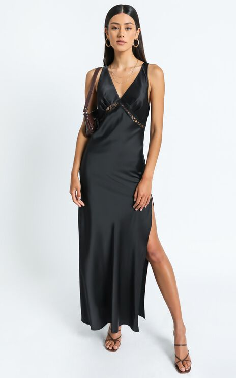 Lioness - Dakota Maxi Dress in Black