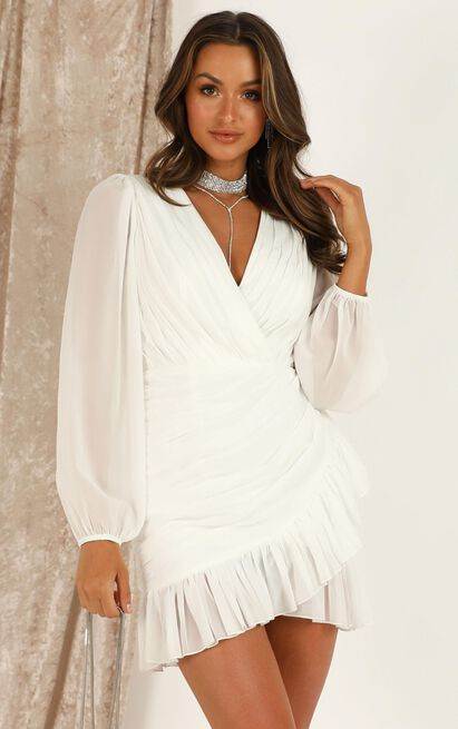 Can I Be Your Honey Dress in white - 16 (XXL), White, hi-res image number null