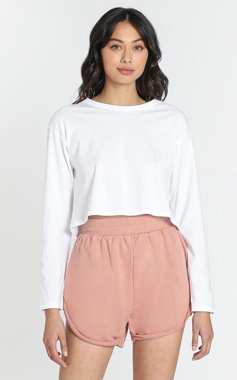 La Vie Lounge Shorts in Rose