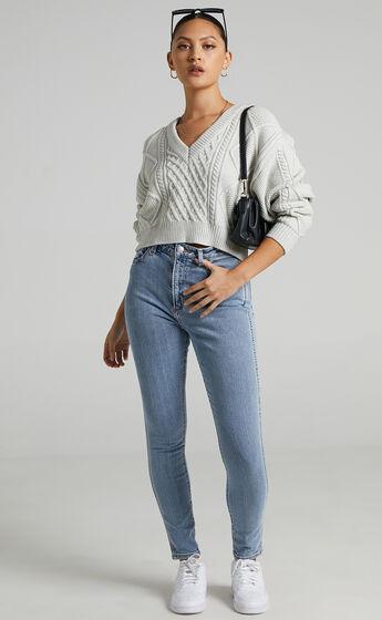 Neuw - Marilyn Skinny Jean in Zero Uptown