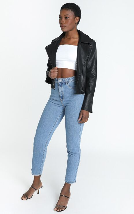 Your Desire Jacket in Black Leatherette