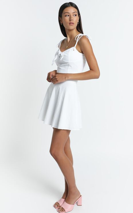Pei Skirt in White