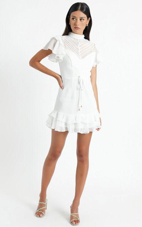 Livvy Dress in White