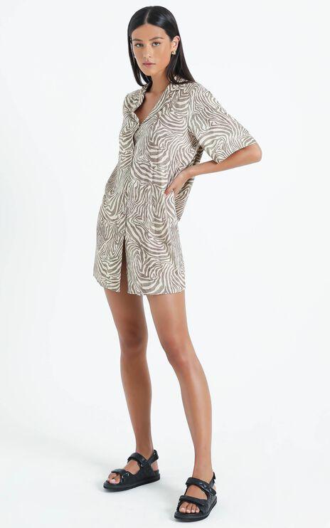 Margred Dress in Zebra