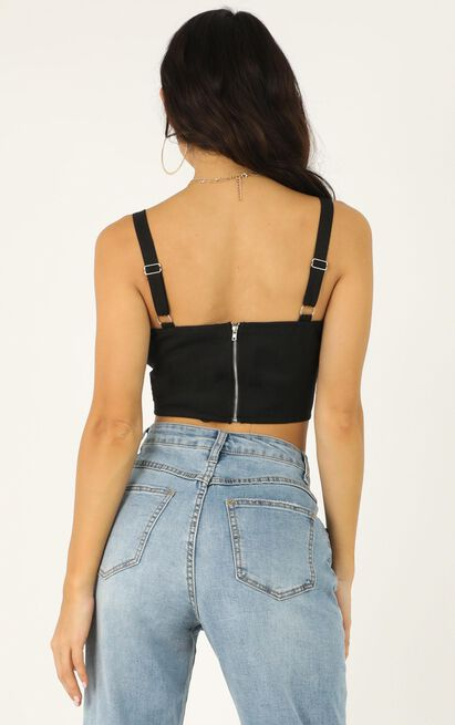 High Profile Top In black - 20 (XXXXL), Black, hi-res image number null