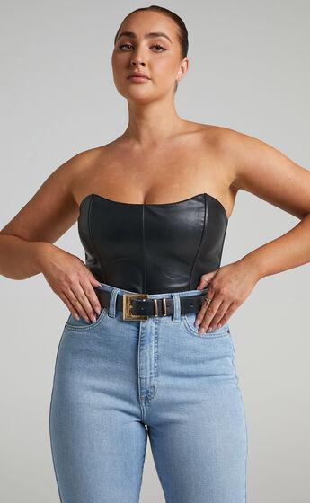 Carah Belt in Black