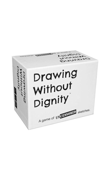 Drawing Without Dignity Base Party Game