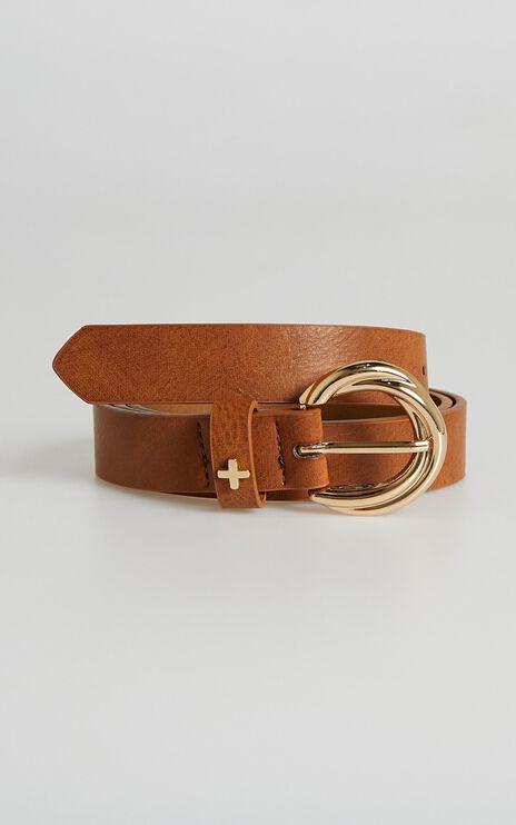 Peta and Jain - Alexis Belt in Tan Gold