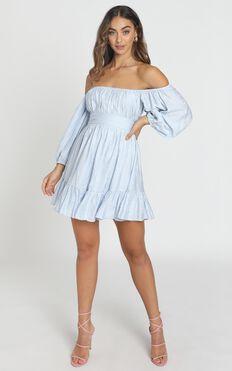 Mandi Dress In Blue