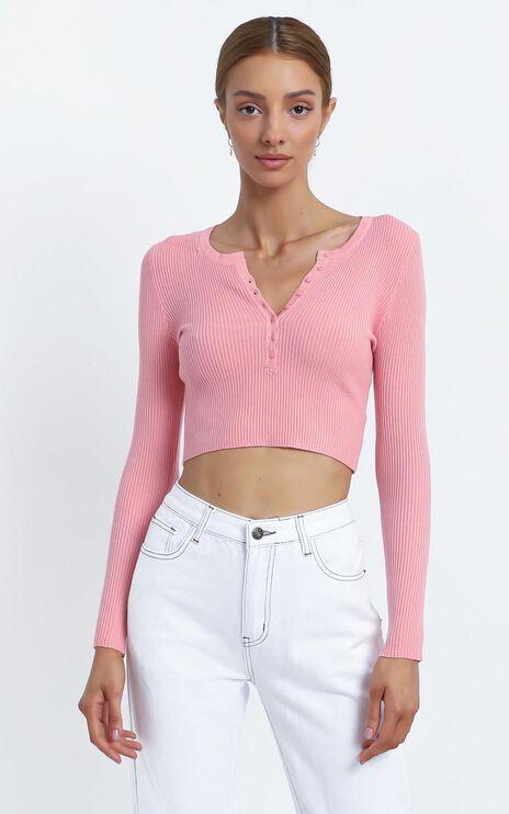 Faylinn Top in Pink
