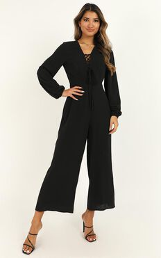 More And More Jumpsuit In Black