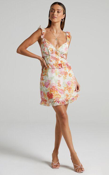 Elladan Dress in Romantic Floral