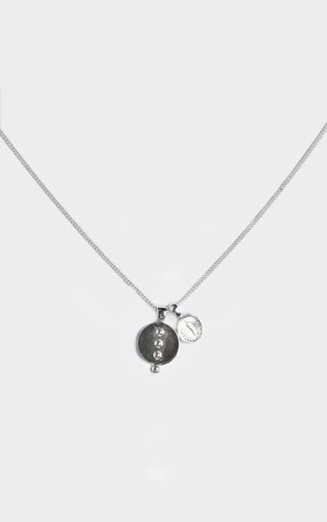 Minc Collections - Breeze Pendant Necklace in Silver