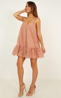 Barbie Dreams Dress In Mocha