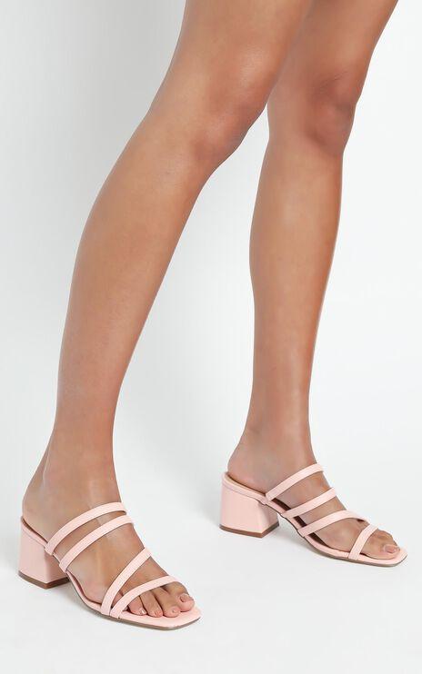 Therapy - Gardeena Heels in Pastel Pink