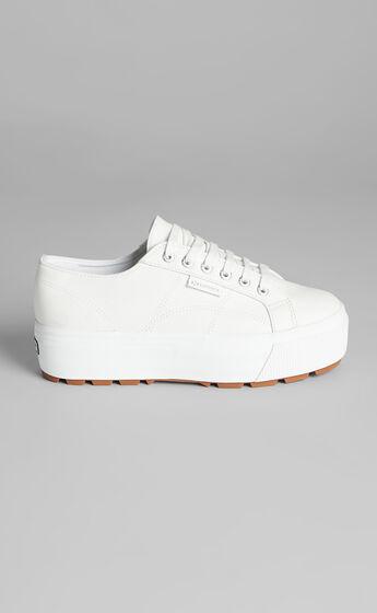 Superga - 2790 Tank Nappa Sneakers in 900 White