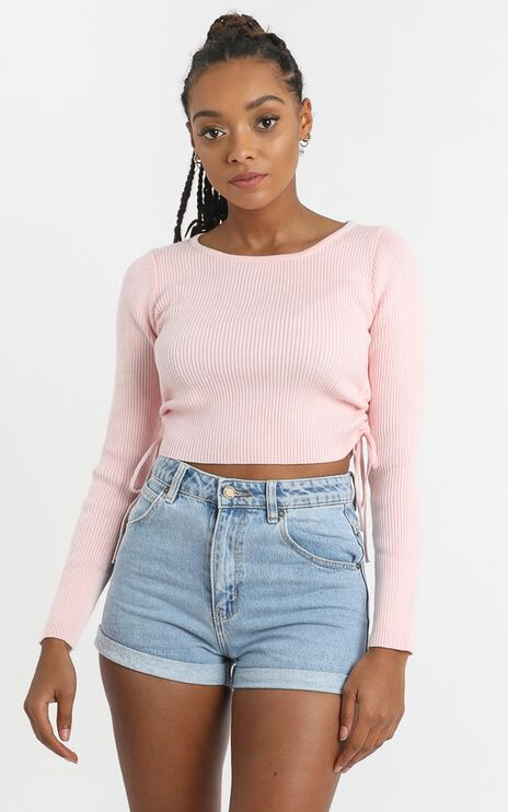 Gracie Top in Pink