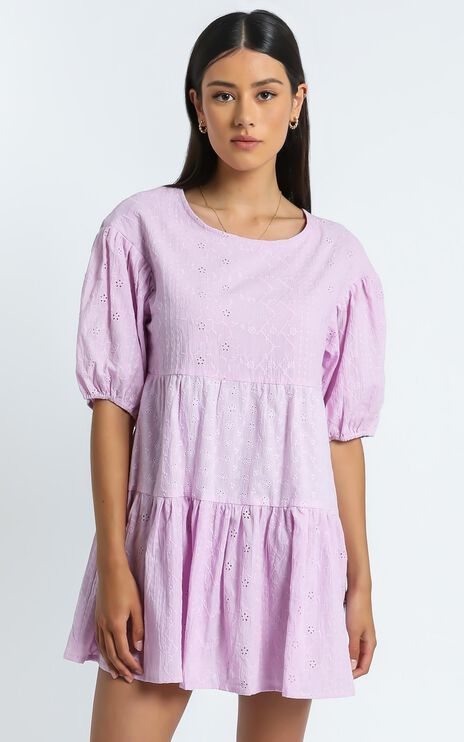August Dress in Lilac