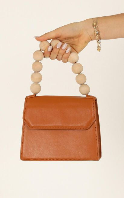 Lost For Words Bag In Tan, , hi-res image number null