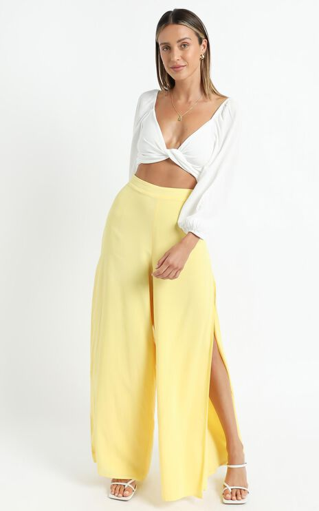 Narissa Pants in Lemon