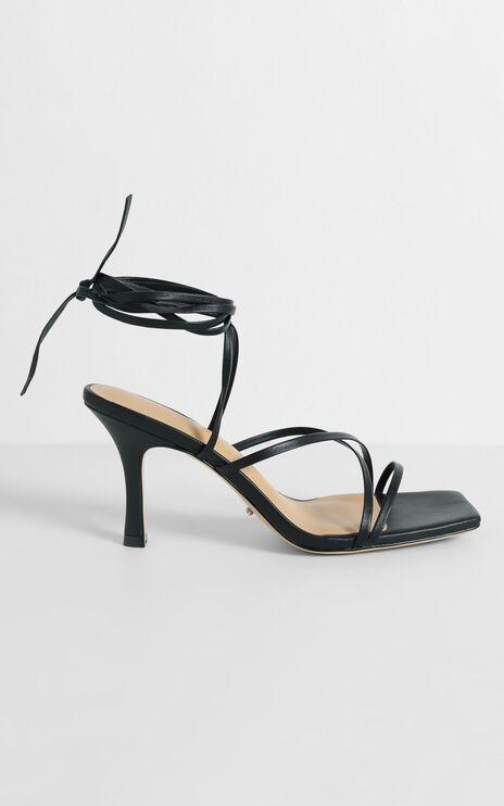 Tony Bianco - Caden Heels in Black Nappa