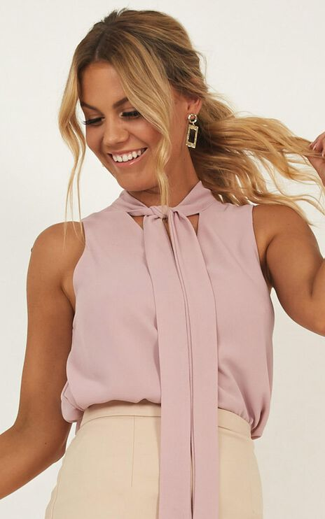 Born For Greatness Top In Blush