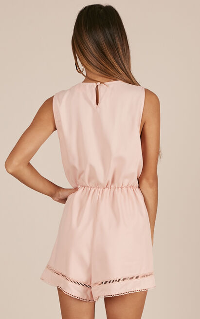 My Own Melody playsuit in blush - 12 (L), Blush, hi-res image number null