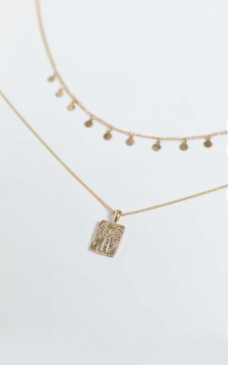 Janka Necklace in Gold