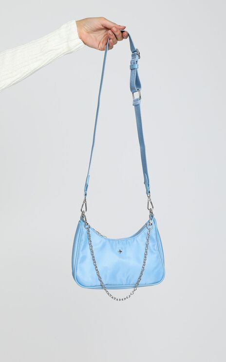 Peta and Jain - Paloma Bag in Blue Nylon