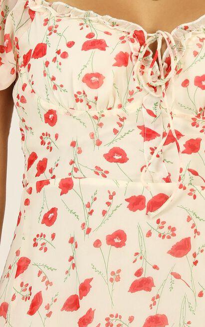 Dance For Me Dress in rose floral - 12 (L), Pink, hi-res image number null