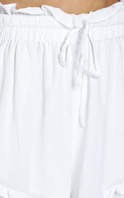 Sun Soaking shorts in white - 20 (XXXXL), White, hi-res image number null