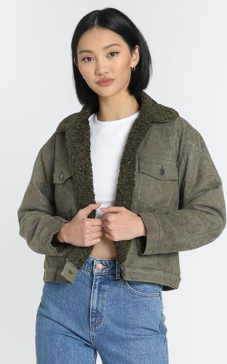 Mila Jacket in Khaki