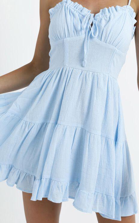 Abigail Dress in Blue