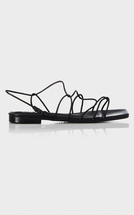 Alias Mae - Greta Sandals in Black Leather