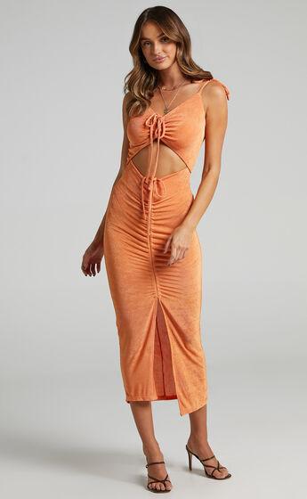 Carmen Ruch Front Dress in Orange