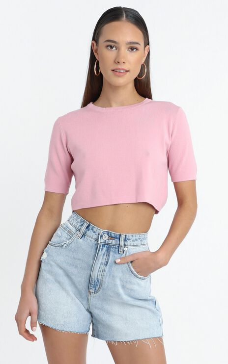 Augusta Top in Pink