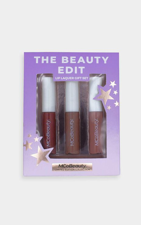 McoBeauty x Tayla Damir - 3 Pack Lip Lacquer in Nudes