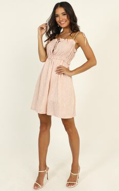 Only Yours Dress In Pink