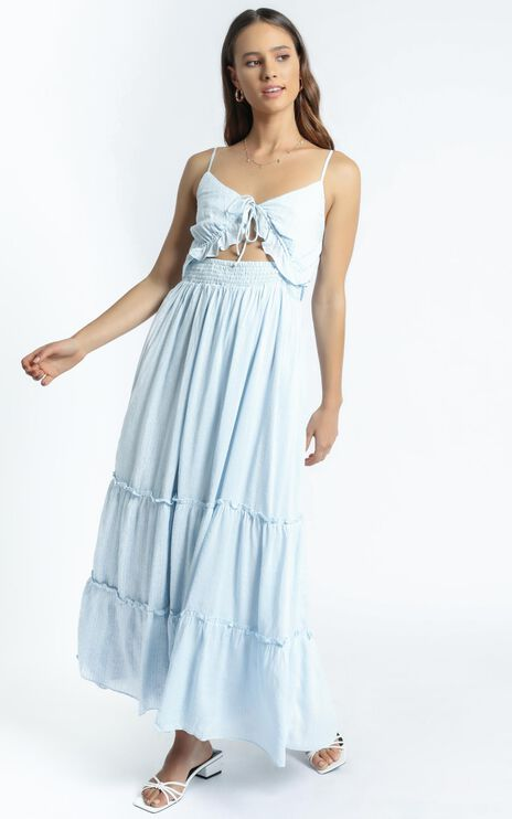 Frida Dress in Blue