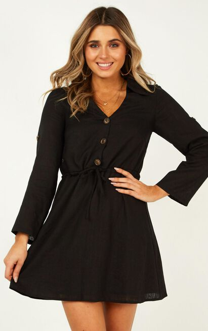 Stick With It Dress in black - 16 (XXL), Black, hi-res image number null