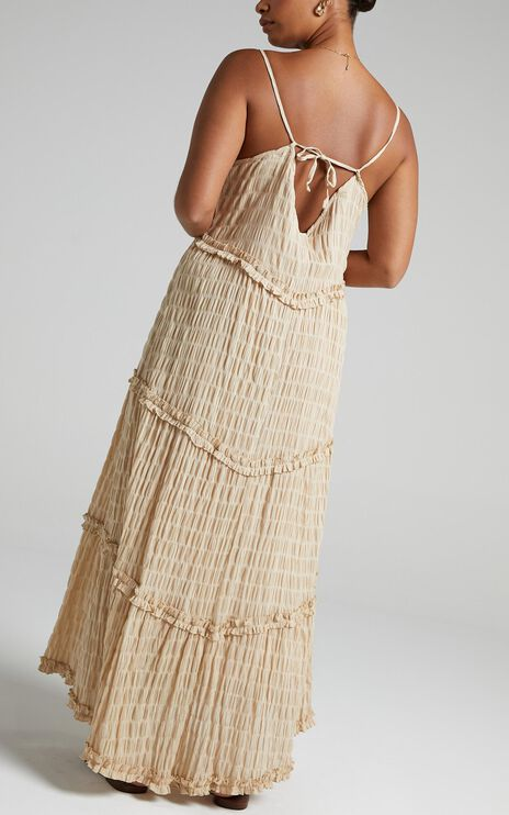 Coastal Breeze Dress in Natural