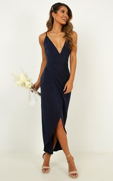 Shes A Dreamer Dress In Navy