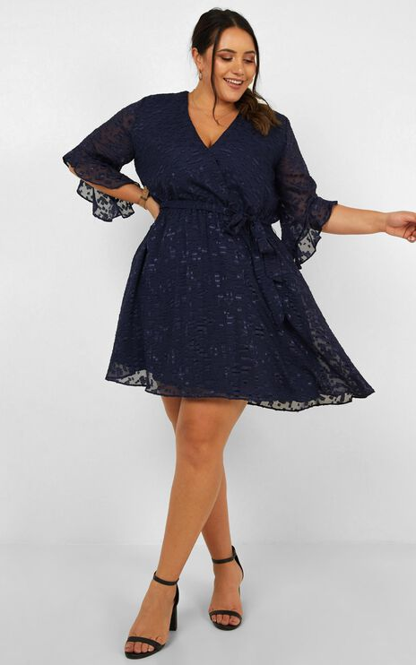 Everyday People Dress In Navy