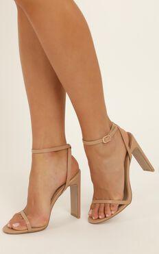 Billini - Dalto Heels In Dark Nude