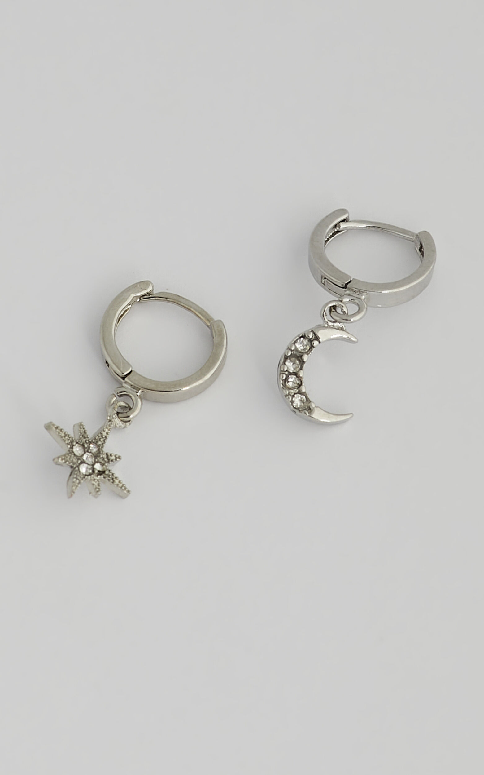 Sibyella Earrings in Silver, SLV2, super-hi-res image number null