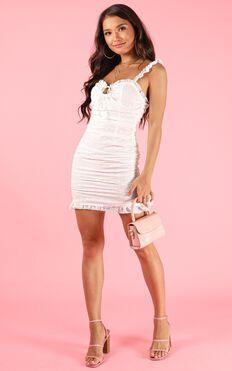 Sweet Pea Dress In White