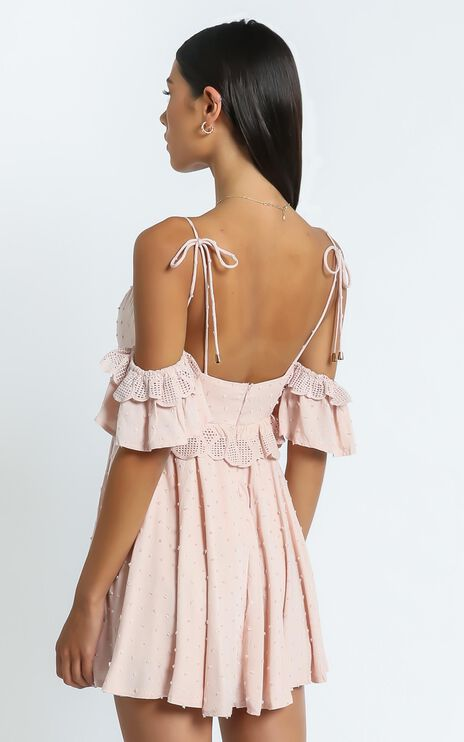 Ziggy Dress in Blush