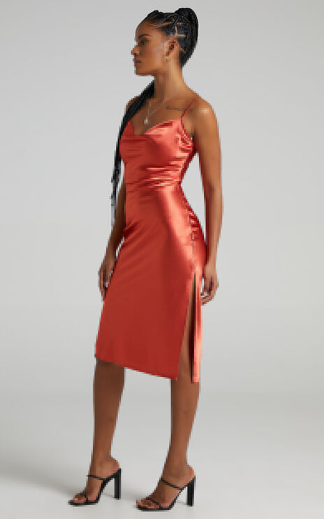 Maree Dress in Copper