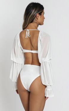 ZYA The Label - Lolita Bodysuit in White