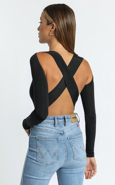 Adley Bodysuit in Black